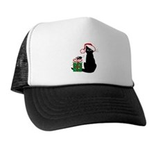 Santa Cat & Mouse Trucker Hat