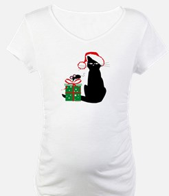 Santa Cat & Mouse Shirt