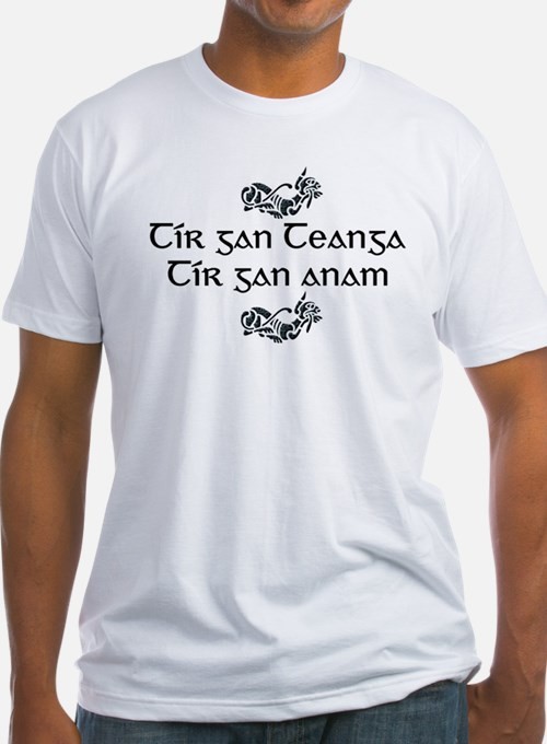 'A Country Without A Language..' T-Shirt