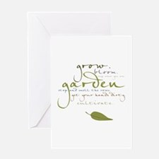 Garden Greeting Card