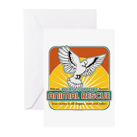 Animal Rescue Bird Greeting Cards (Pk of 10)