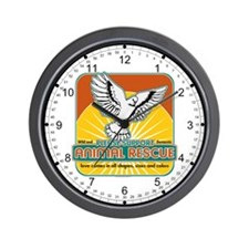 Animal Rescue Bird Wall Clock
