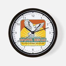 Animal Rescue Bird Wall Clock