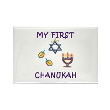 My First Chanukah Rectangle Magnet