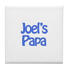 Joel's Papa  Tile Coaster
