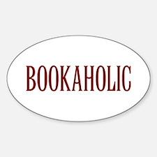 Bookaholic Sticker (Oval)