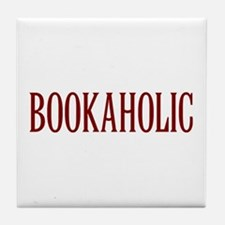 Bookaholic Tile Coaster