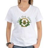 Irish Womens V-Neck T-shirts