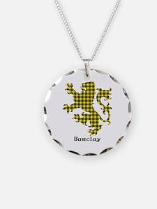 Lion - Barclay dress Necklace Circle Charm