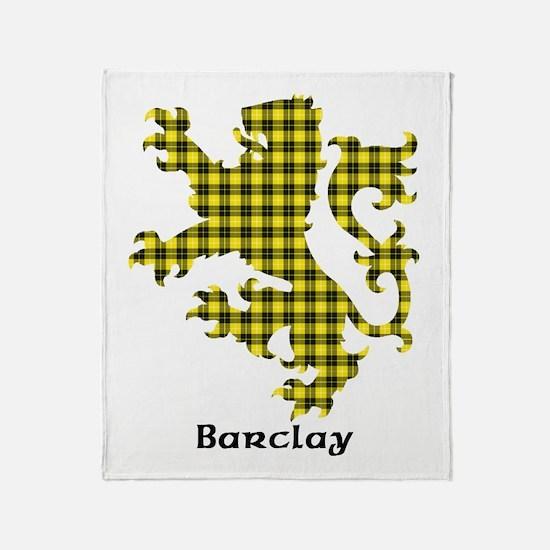 Lion - Barclay dress Throw Blanket