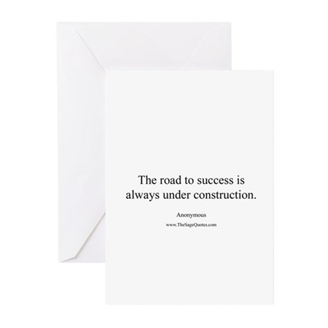 Road to Success Greeting Cards (Pk of 20)