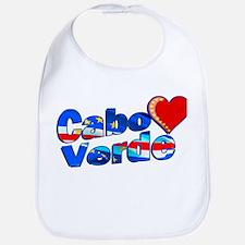 Cabo Verde Heart Bib