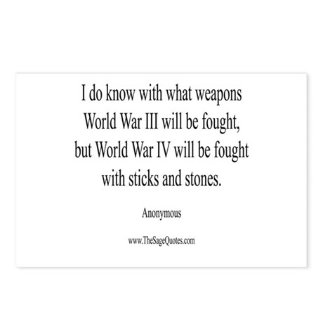 War and Weapons Postcards (Package of 8)