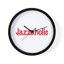 Jazzaholic Wall Clock