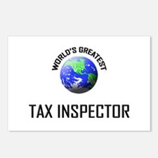 World's Greatest TAX INSPECTOR Postcards (Package
