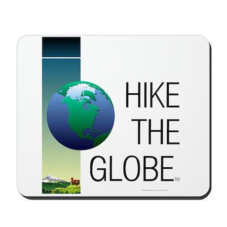 TOP Hike the Globe Mousepad