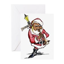Cute Jazz christmas Greeting Cards (Pk of 20)