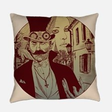 New Orleans Dracula Everyday Pillow