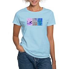 SOLO TRIATHLON TRIPTYCH PAINTING 2 T-Shirt