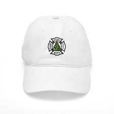 Firefighter Christmas Tree Baseball Cap