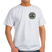 Firefighter Christmas Tree T-Shirt