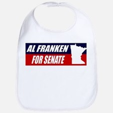 AL FRANKEN FOR SENATE BUMPER Bib