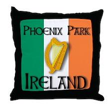 Phoenix Park Ireland Throw Pillow