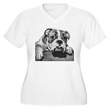 Bulldog Head Vintage-1 T-Shirt