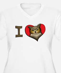 I heart owls T-Shirt