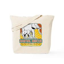 Animal Rescue Elephants Tote Bag