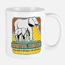 Animal Rescue Elephants Mug