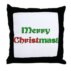 Christ in Christmas Throw Pillow