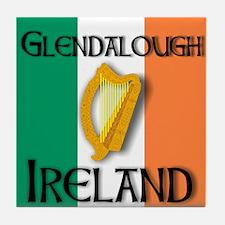 Glendalough Ireland  Tile Coaster
