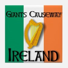Giants Causeway Ireland T Shi Tile Coaster