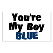 Your My Boy Blue Rectangle Decal