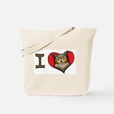I heart owls Tote Bag
