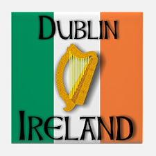 Dublin Ireland T shirts Tile Coaster