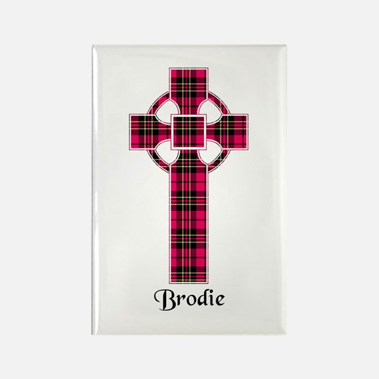 Cross - Brodie Rectangle Magnet