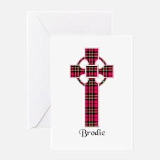 Cross - Brodie Greeting Card
