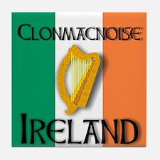 Clonmacnoise Ireland  Tile Coaster