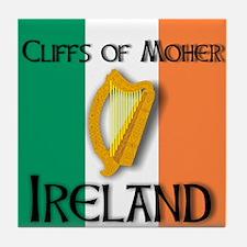Cliffs of Moher Ireland Tile Coaster