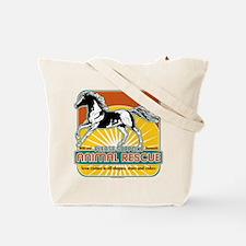 Animal Rescue Horse Tote Bag