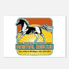 Animal Rescue Horse Postcards (Package of 8)