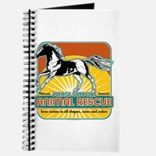 Animal Rescue Horse Journal