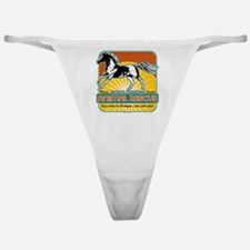 Animal Rescue Horse Classic Thong