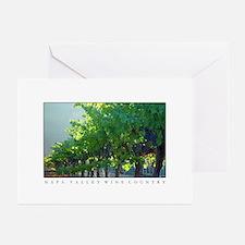 napa valley backlit vineyards laden with grapes Gr