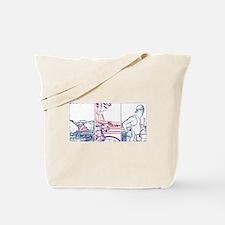 SOLO TRIATHLON TRIPTYCH LINE 1 Tote Bag