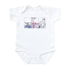 SOLO TRIATHLON TRIPTYCH LINE 1 Infant Bodysuit