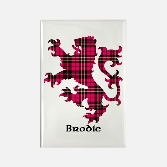 Lion - Brodie Rectangle Magnet