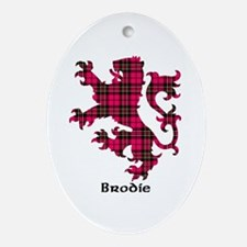 Lion - Brodie Oval Ornament